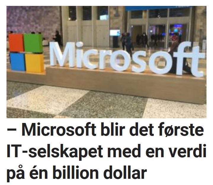 Analytikere tror Microsoft kan bli først.