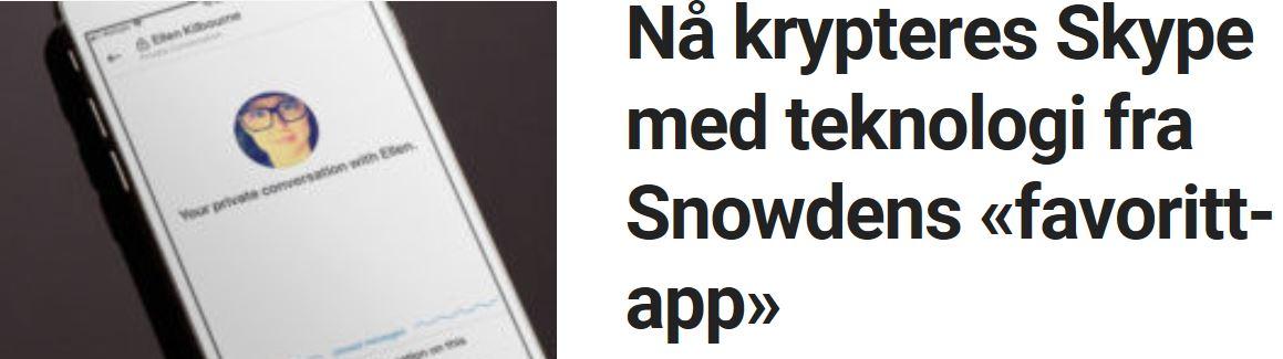 Skype får bedre kryptering.