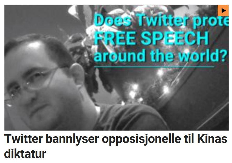 Twitter bannlyser.