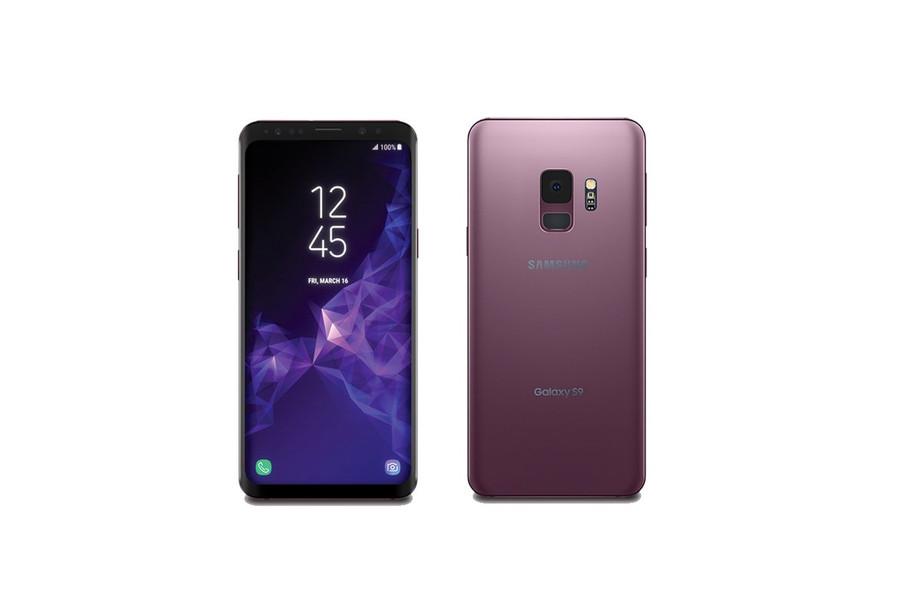 Her er Galaxy S9.