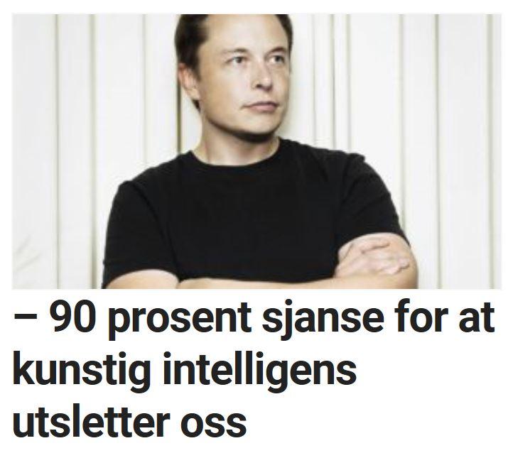 Elon Musk advarer.