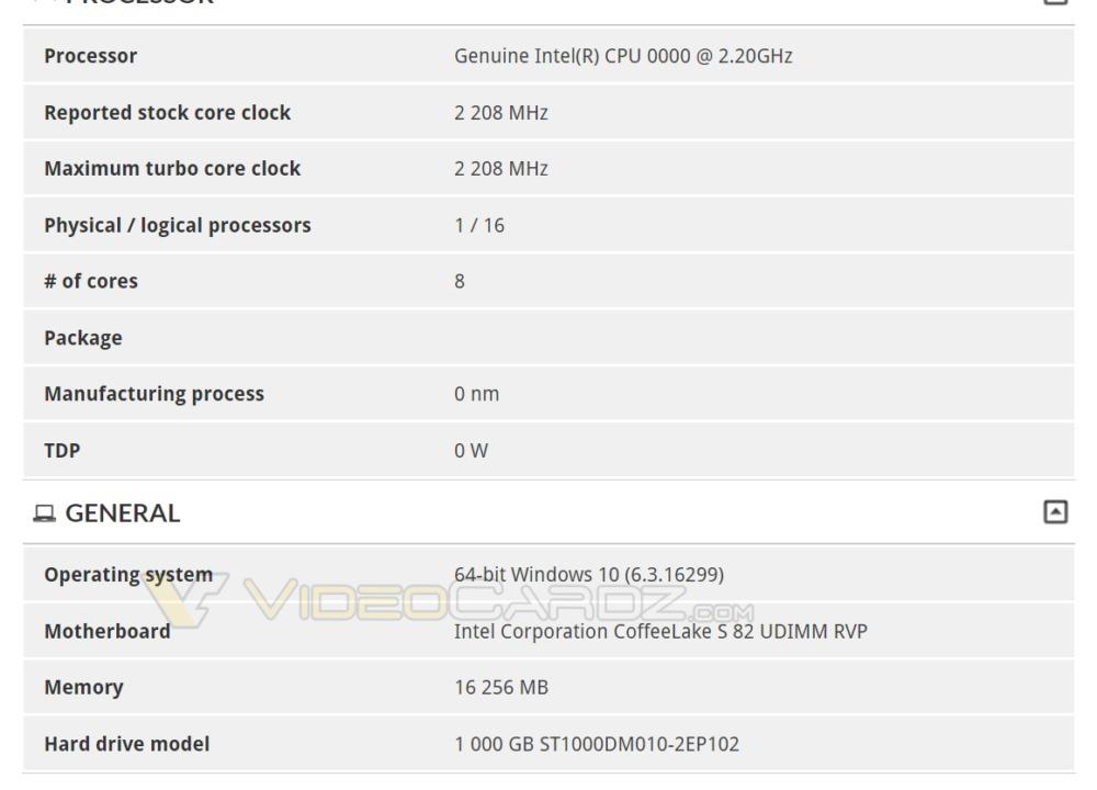 Ukjent 8-kjerners prosessor dukket opp i 3DMarks database.