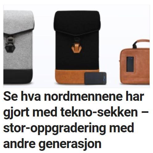 Solgaard oppdaterer den populære sekken.