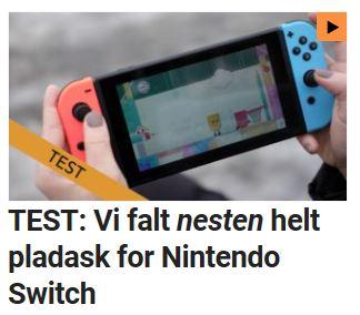 Les hva vi syns om Switch.