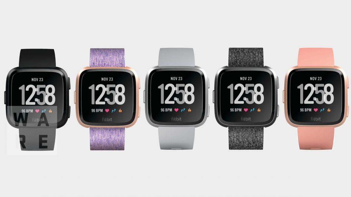 Fitbit-smartklokken blir tilgjengelig i flere farger.