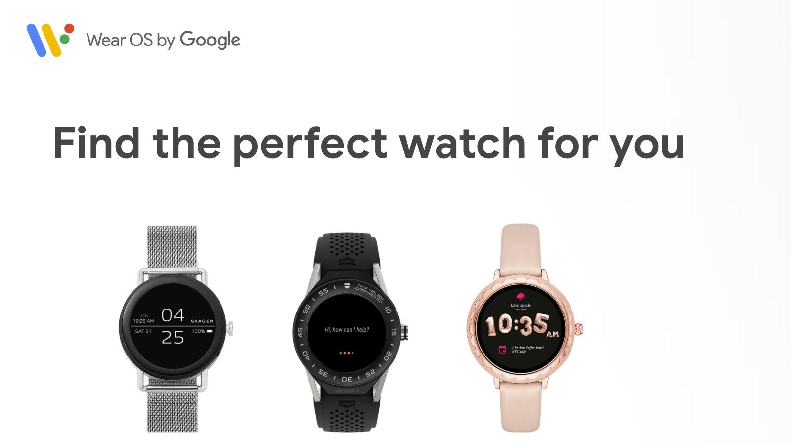 Googles smartklokke-OS endrer navn til Wear OS.
