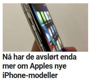 Flere iPhone-avsløringer.