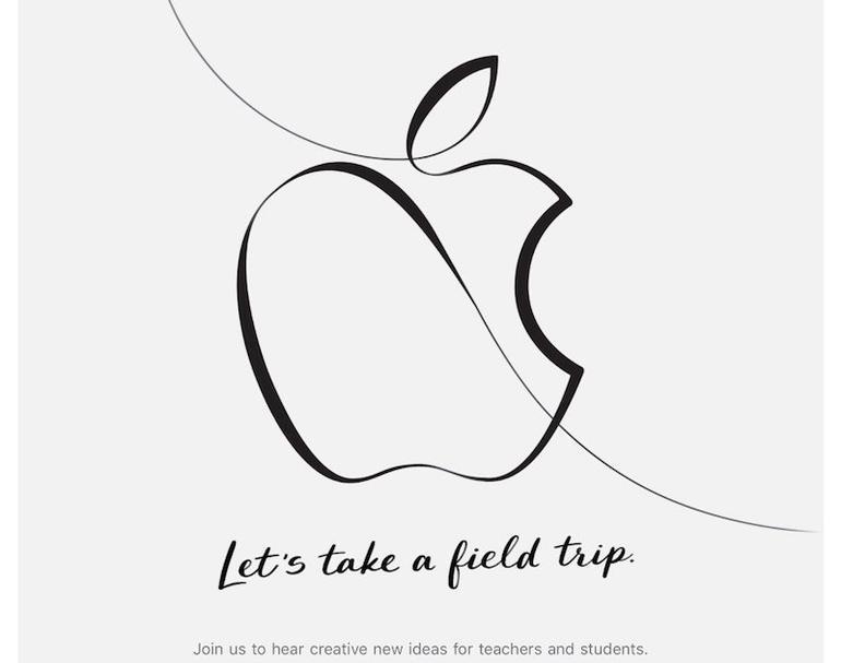 Apples invitasjon. Vi følger eventet fortløpende.