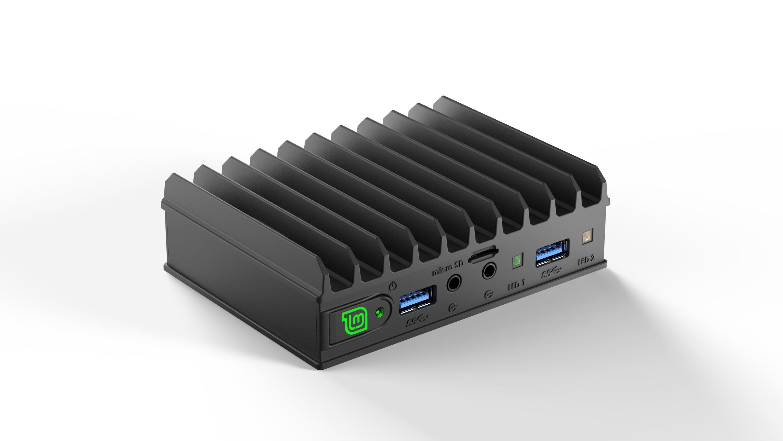 2 x USB 3.0-porter er nå å finne i front.