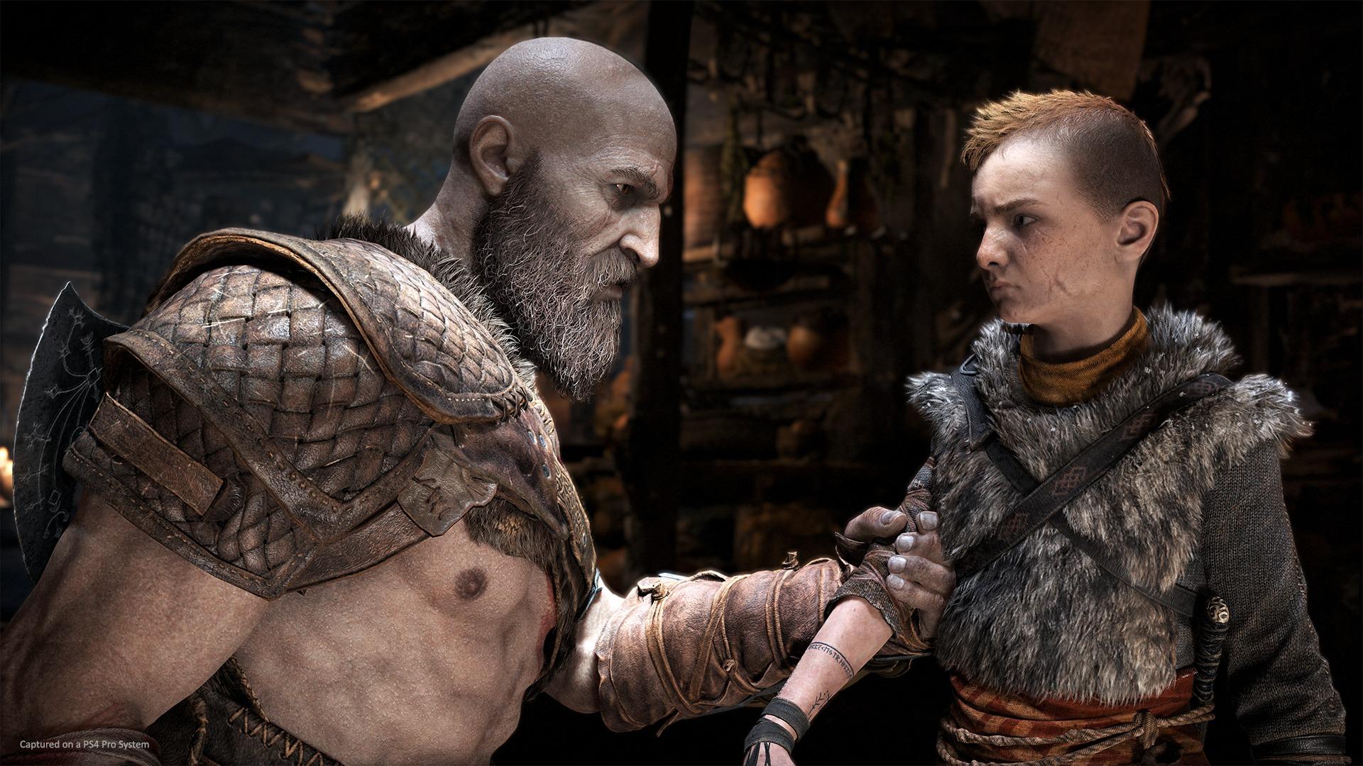Kratos er ikke det man kan kalle en tilgjengelig far, så de to må lære seg å kjenne hverandre.
