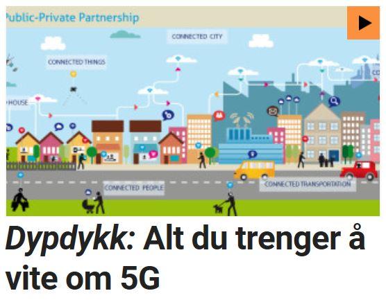 Dypdykk: Alt du trenger å vite om 5G.