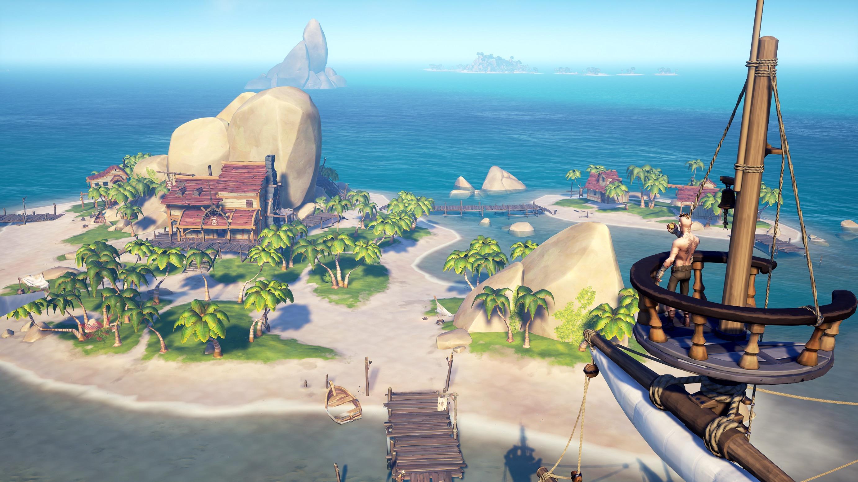 Hvis man går lei oppdragene, kan man for eksempel benytte tiden til å utforske en av de mange øyene.