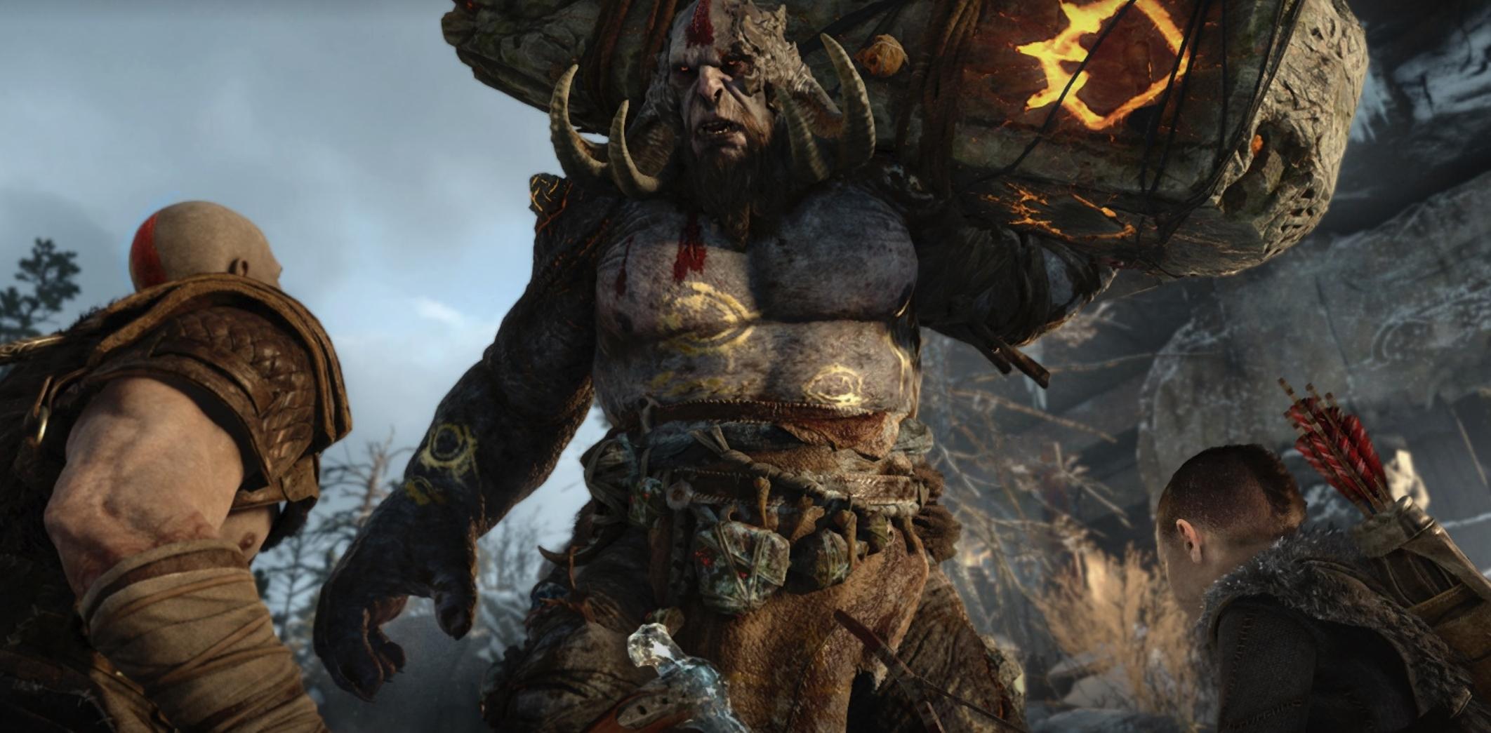 Har du vært borti de andre spillene i serien er du vant til store monstre du aldri har sett maken til før. Så er også tilfellet med God of War.