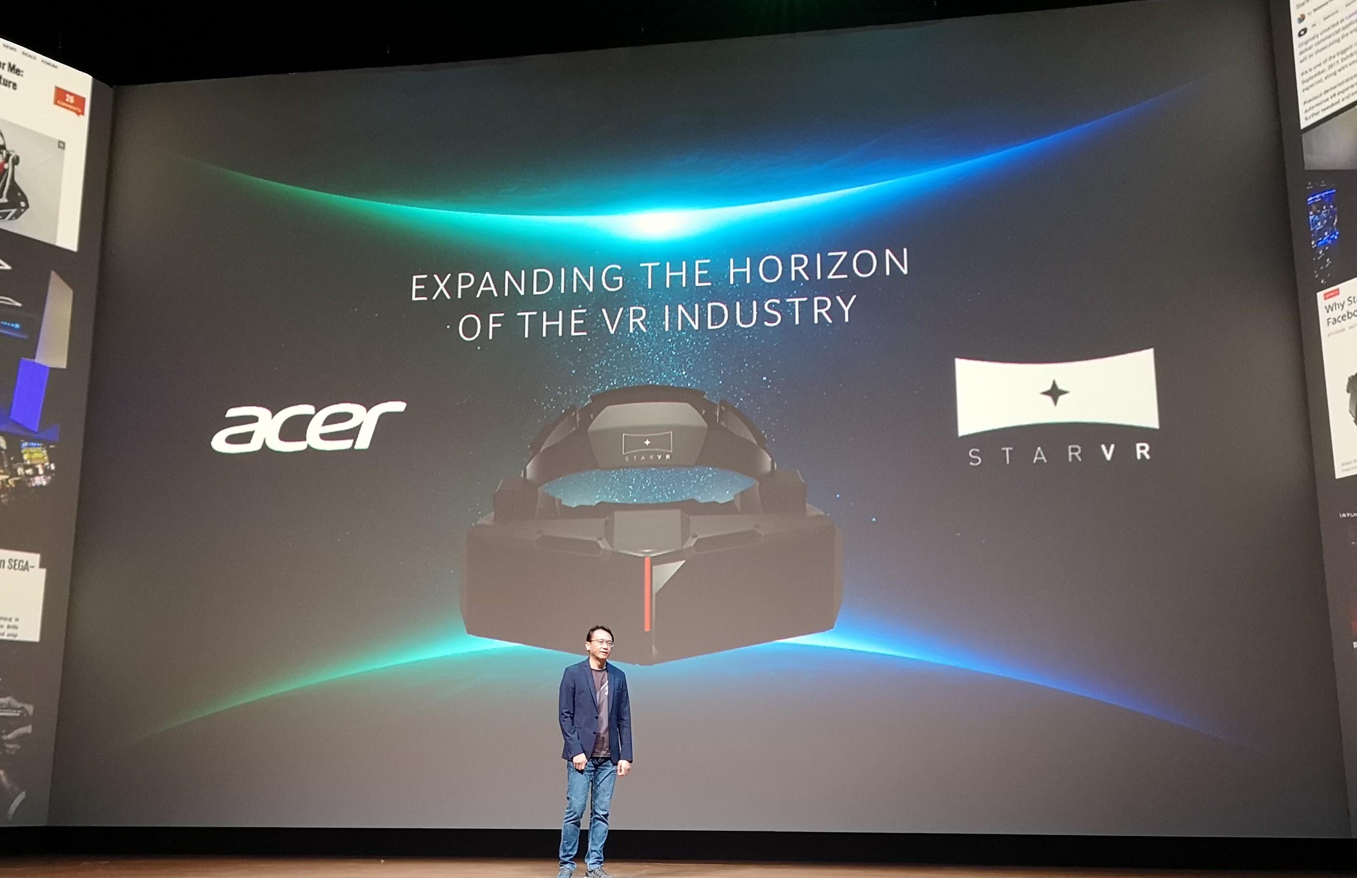 Acer har tro på VR og går tungt inn.