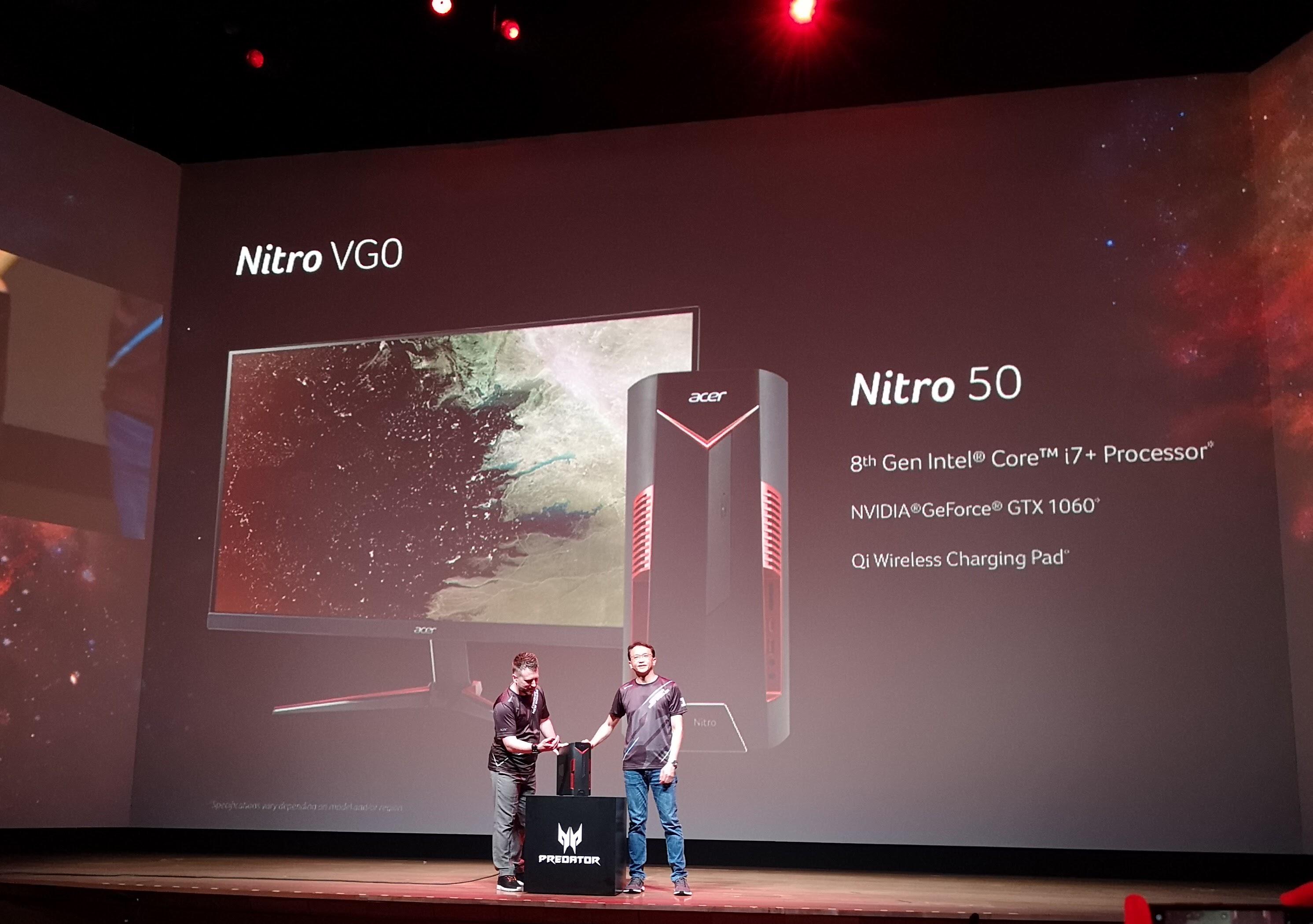 Ny Nitro-maskin fra Acer