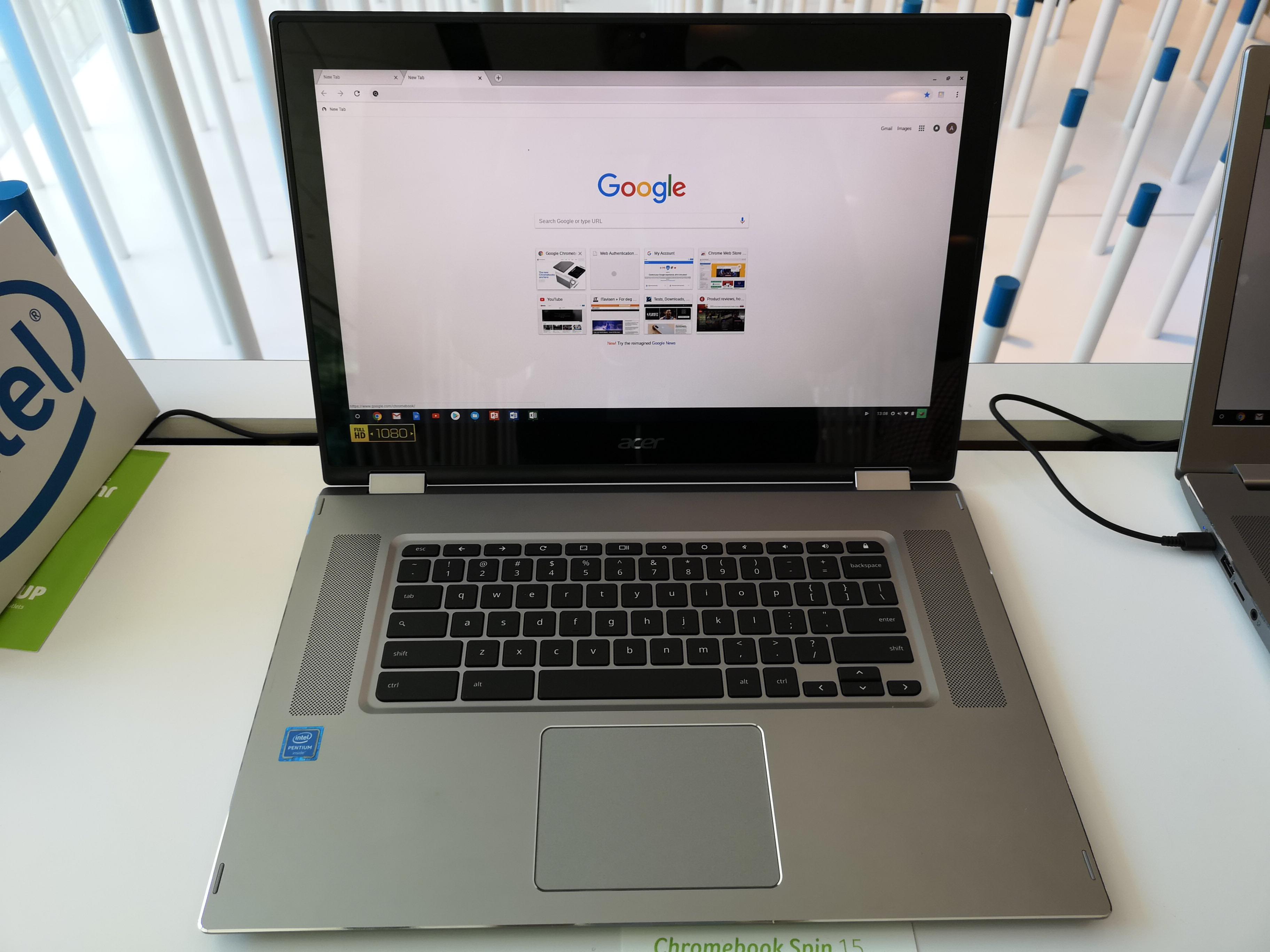 Chromebook Spin 15 er nok en pen maskin.