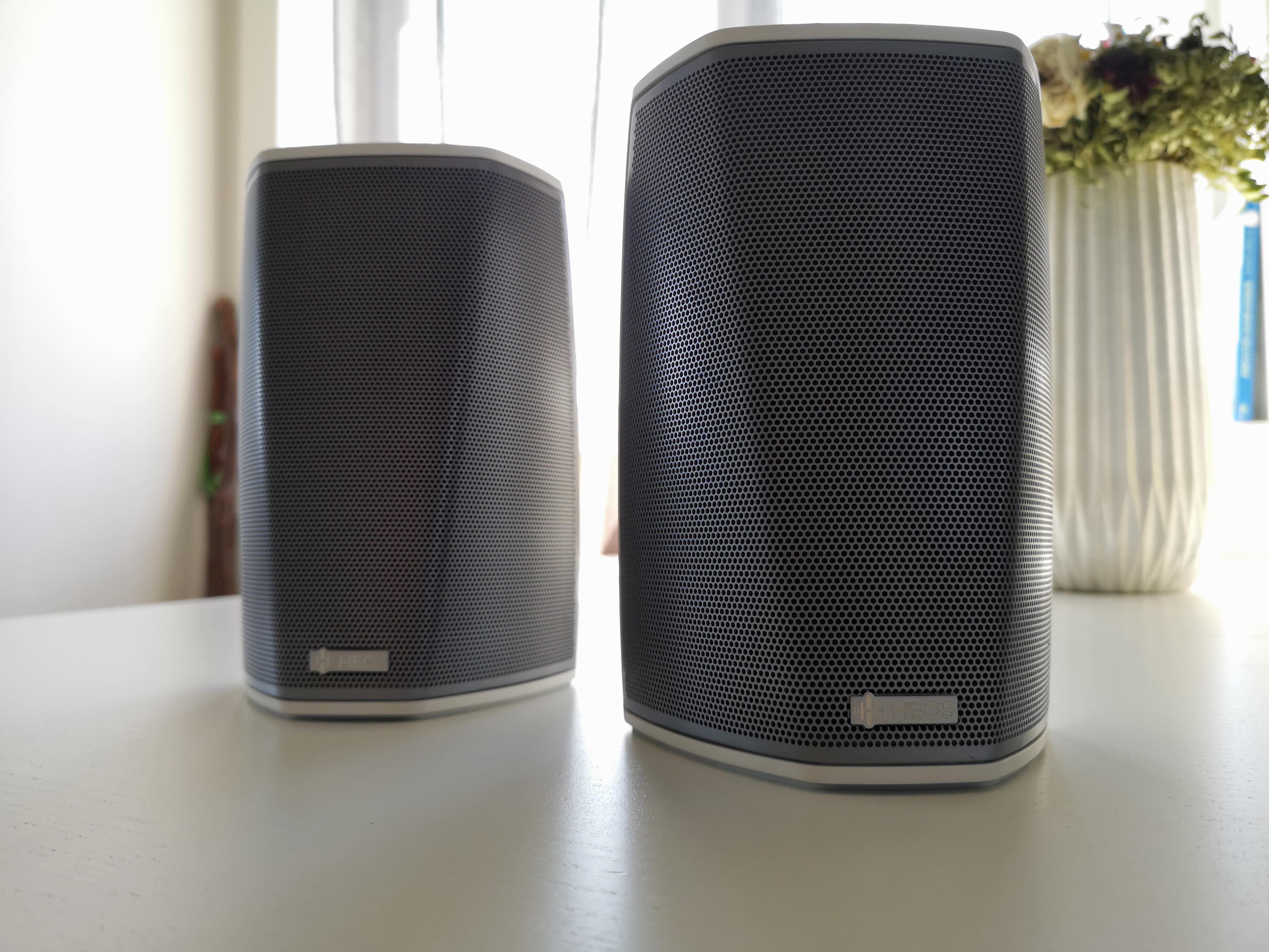 HEOS 1 fungerer bra til bakhøyttalere og til stereomusikk.