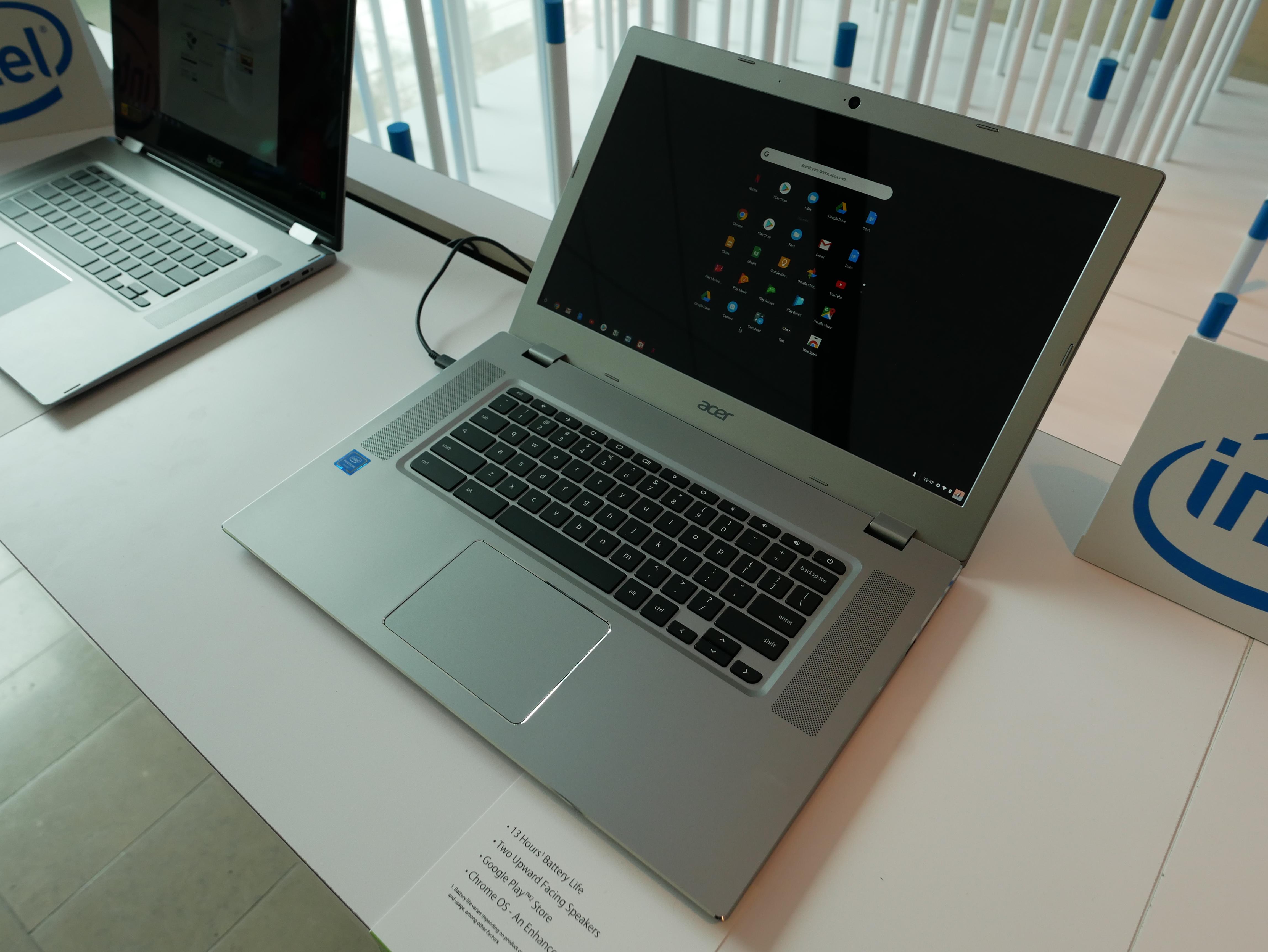 Chromebook 15 så heller ikke så verst ut.