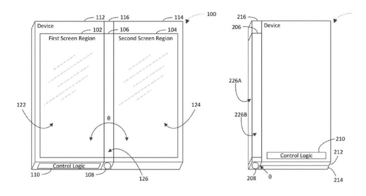 Microsofts patent fra vinteren 2016 med hele tre paneler er avslørt. Spørsmålet er nå om de gikk videre med denne ideen, eller skrapet den for et par år siden.
