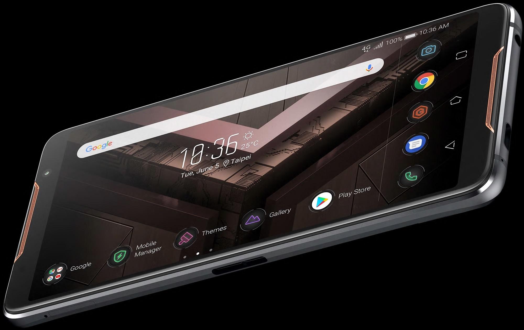 Akkurat her ser ROG Phone ut som en ulv i fåreklær.