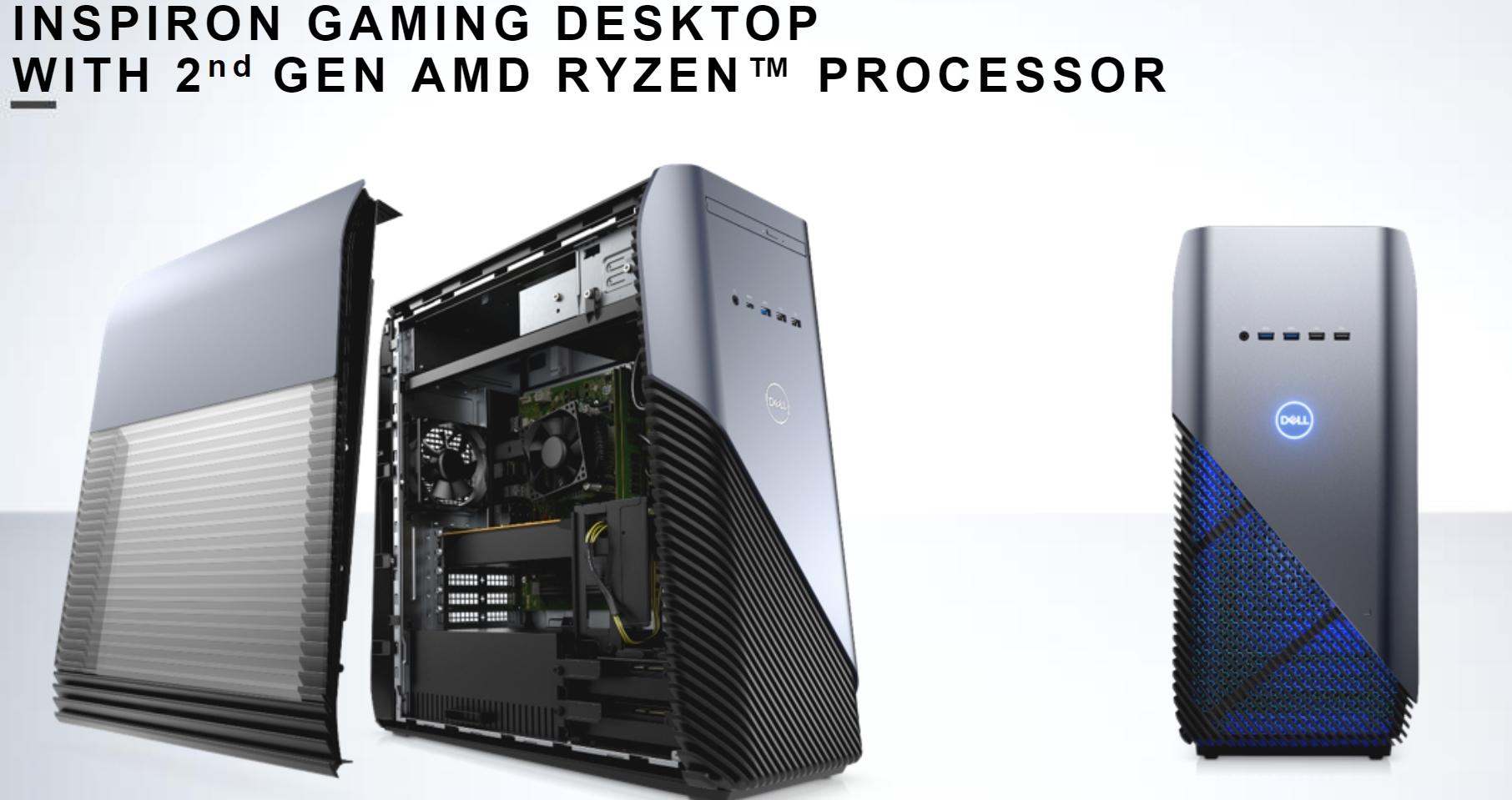 Ny Dell spill-PC med Ryzen 2.
