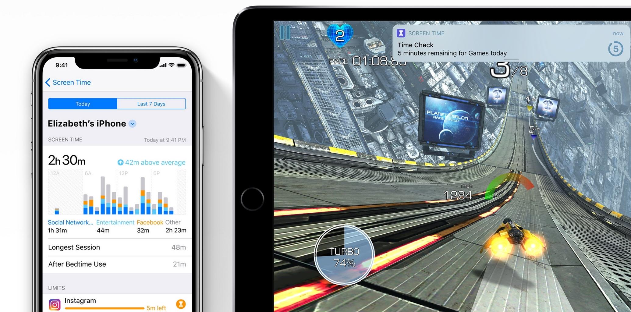 iOS 12 lar foreldre følge med på barnas, og egen bruk.