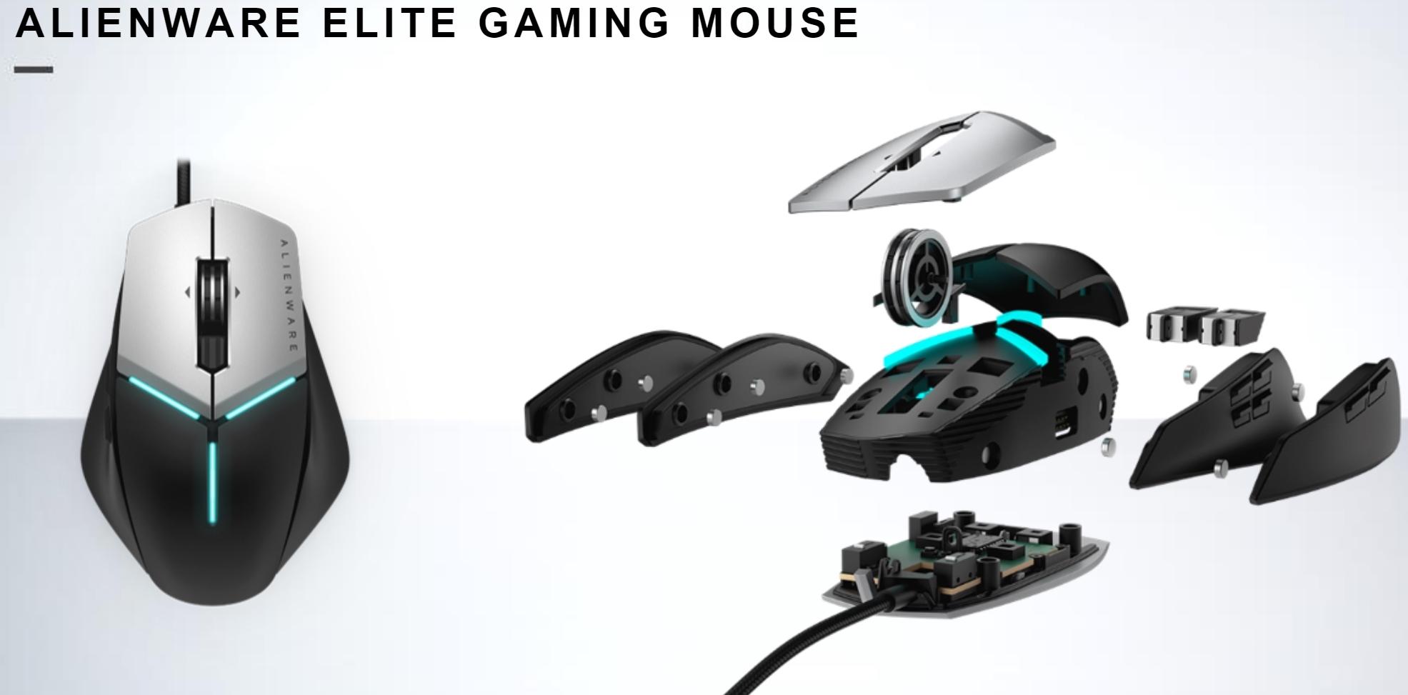 Alienwares nye Elite-spillmus med profilstøtte. Pris 89 dollar. Lansering om en måned.
