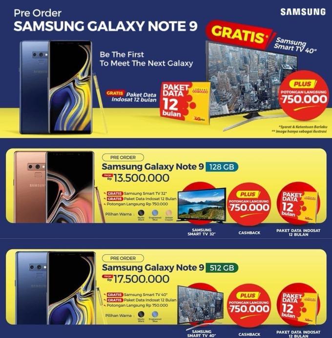 Indonesisk salgskampanje for den kommende telefonen.