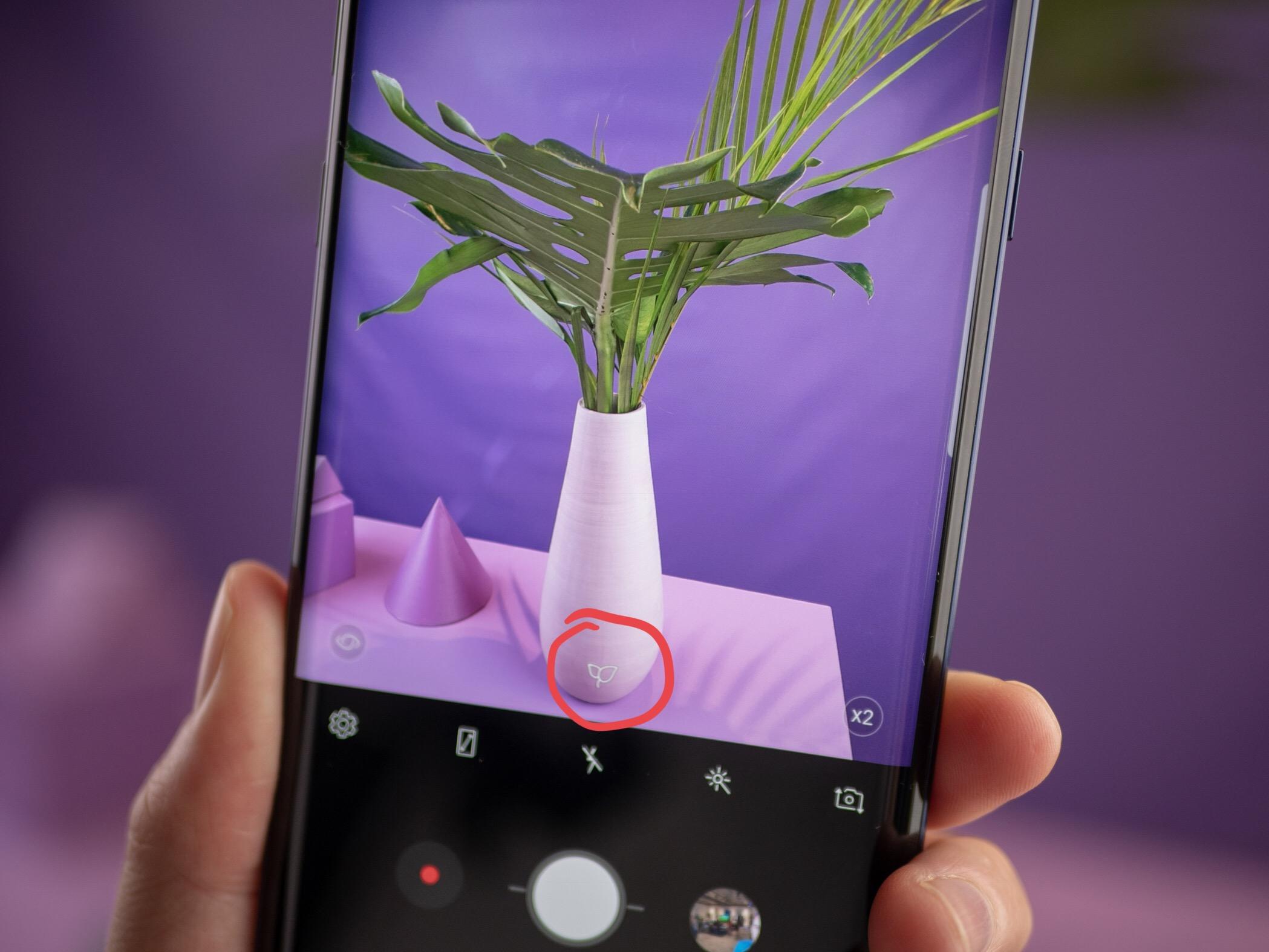 Note 9-kameraet kan gjenkjenne 20 ulike scener.