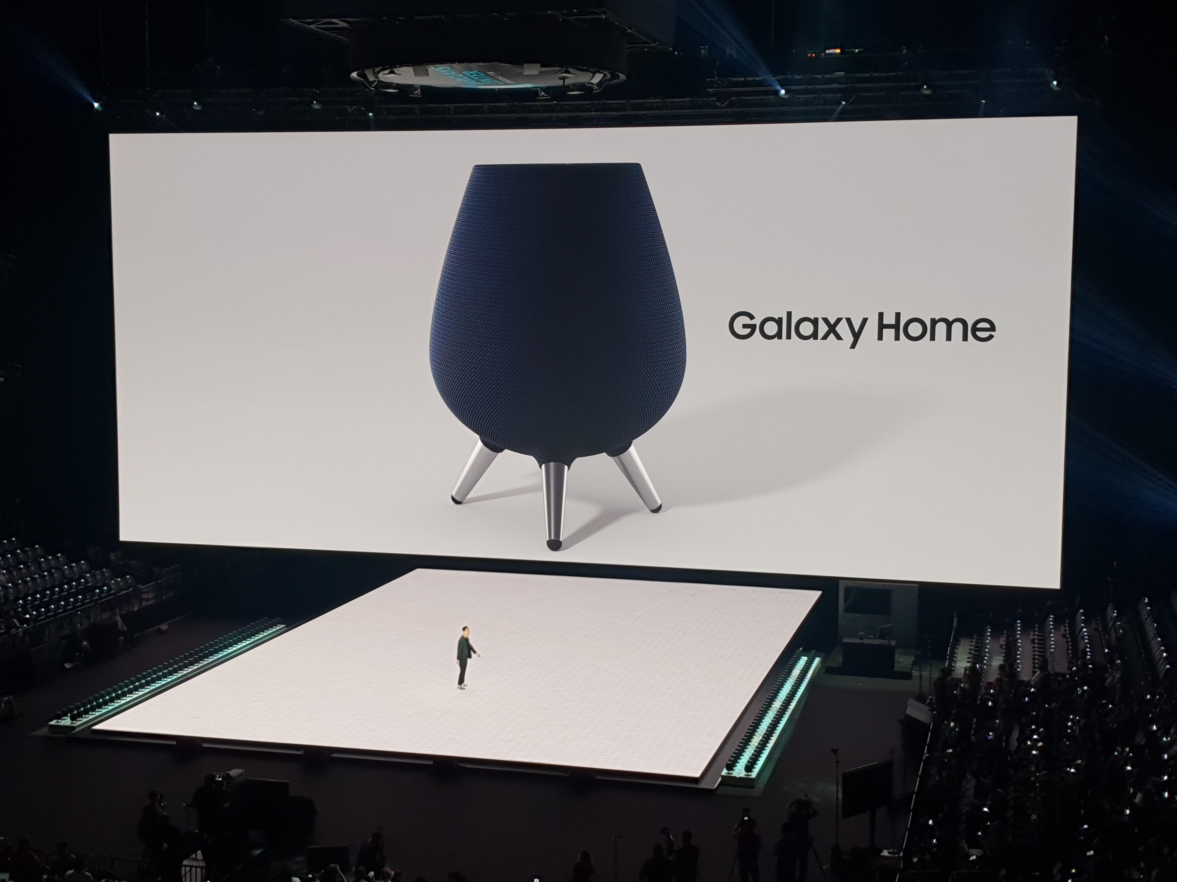 Galaxy Home var den store overraskelsen til Samsung.