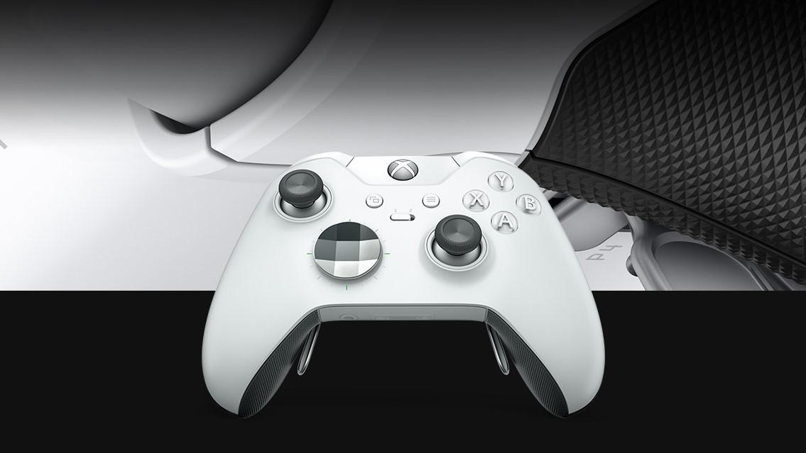 Neste måned kommer den hvite utgaven av Xbox One Elite-kontrolleren.