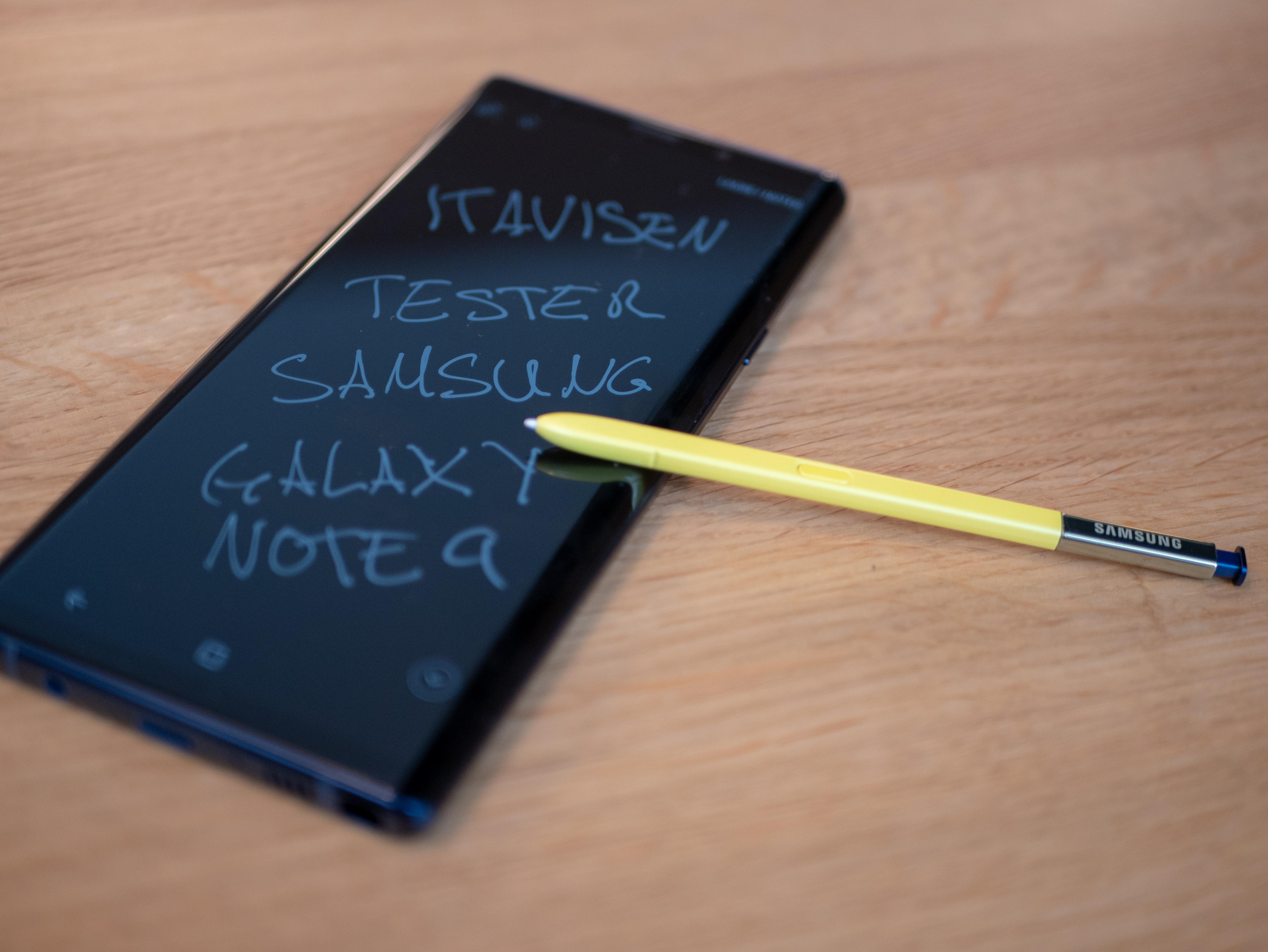 S Pen er enda bedre med Bluetooth.