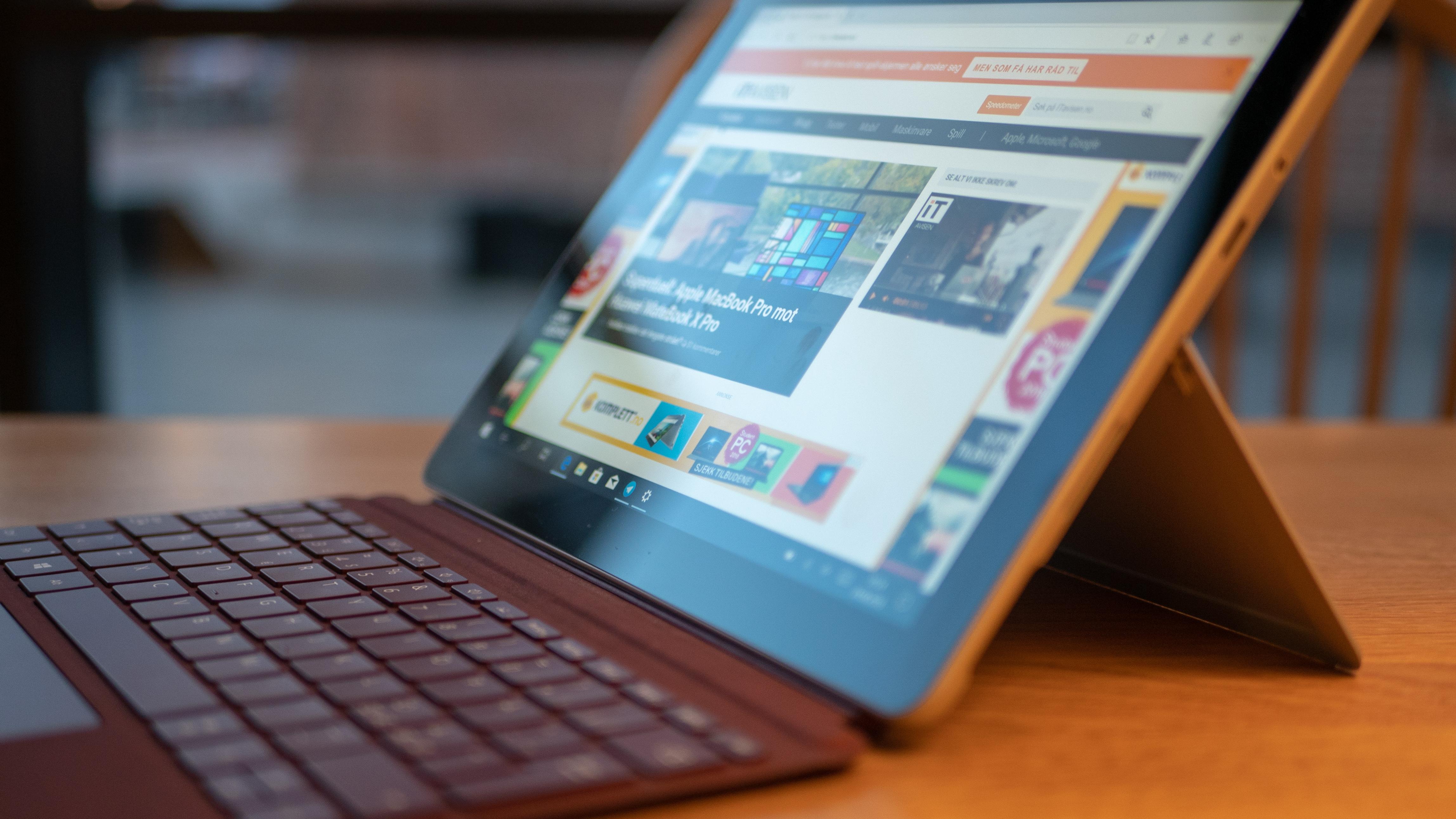 Vi er ganske spent på hvor godt Surface Go presterer.