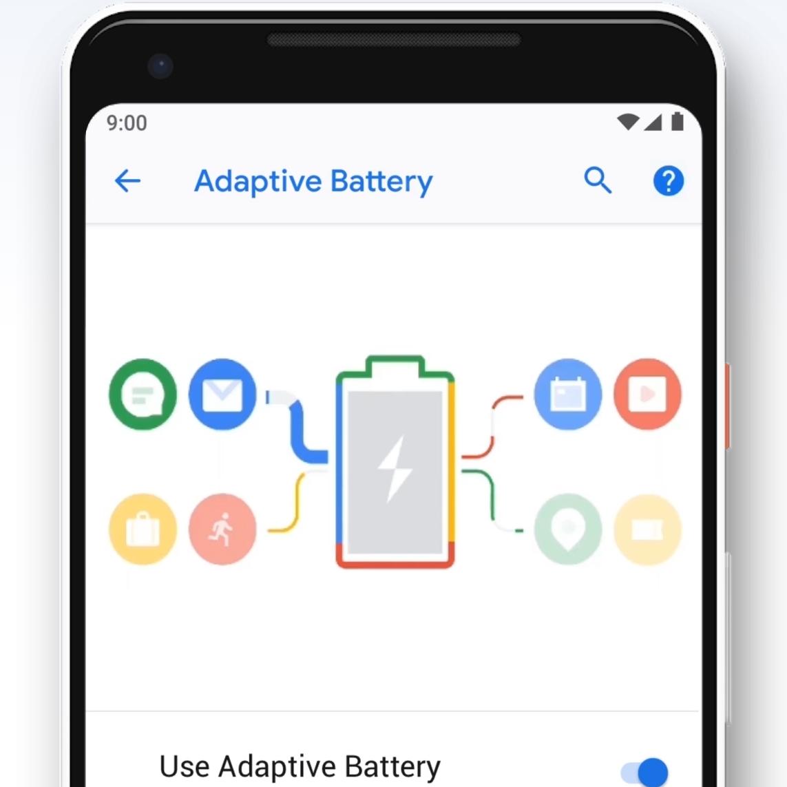 Android Pie håndterer apper smartere for bedre batterilevetid,