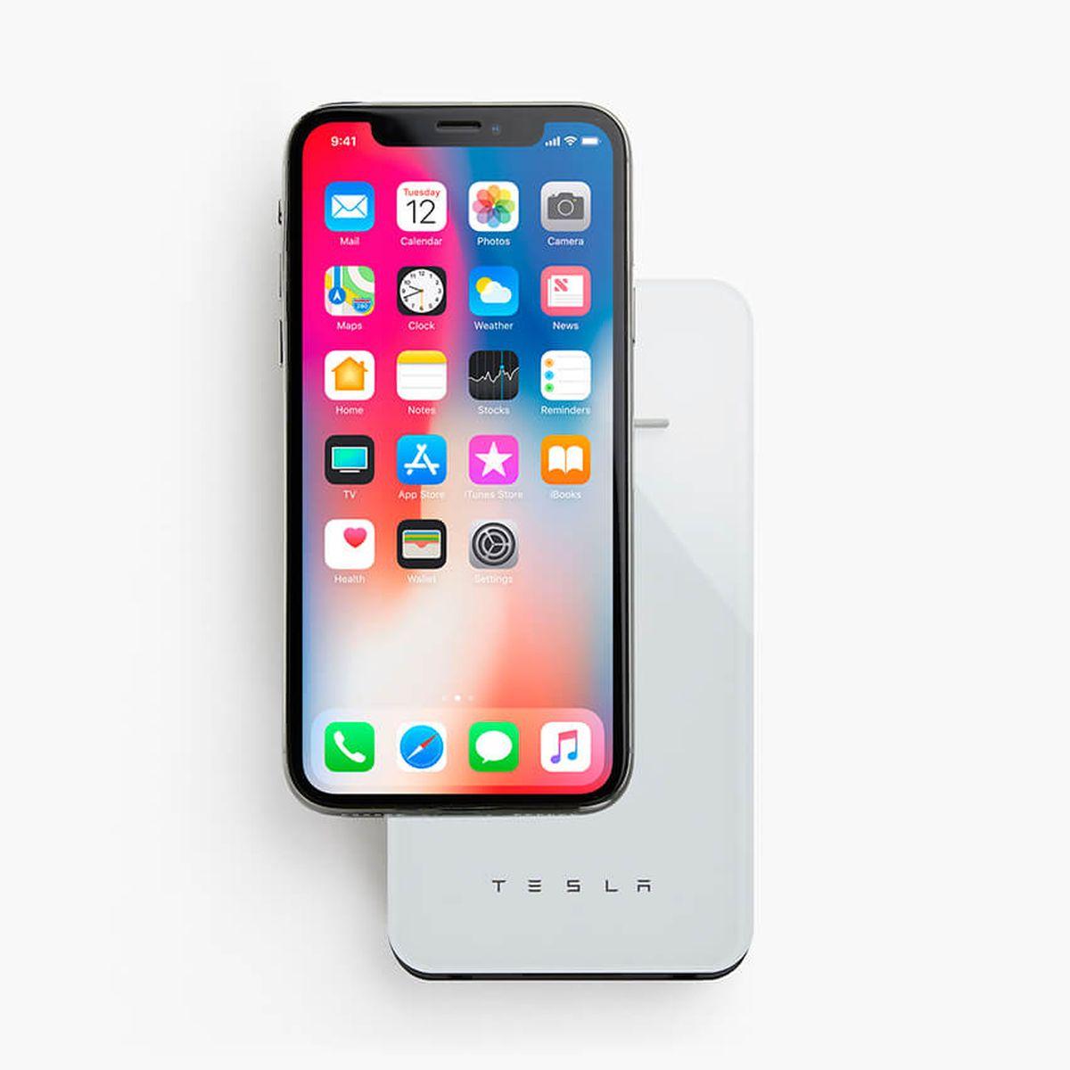 Lad iPhone X trådløst.