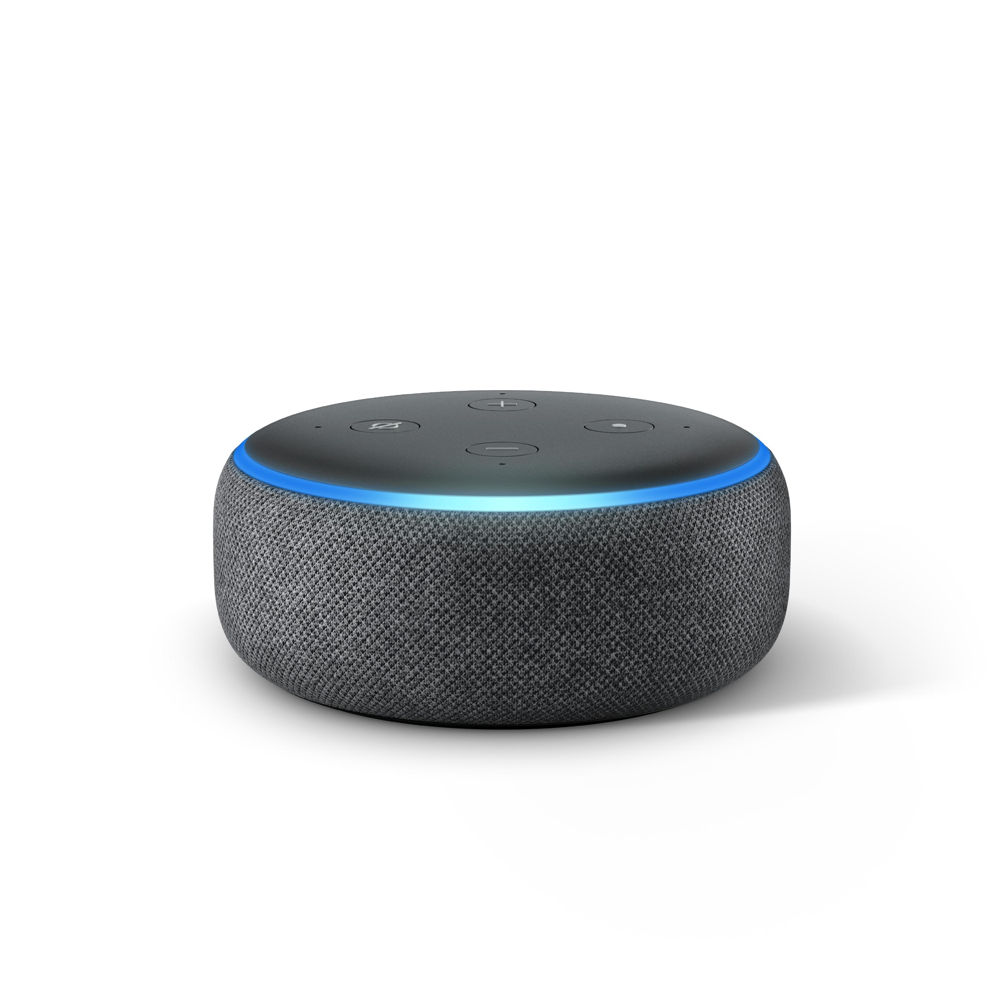Nye Amazon Echo Dot.