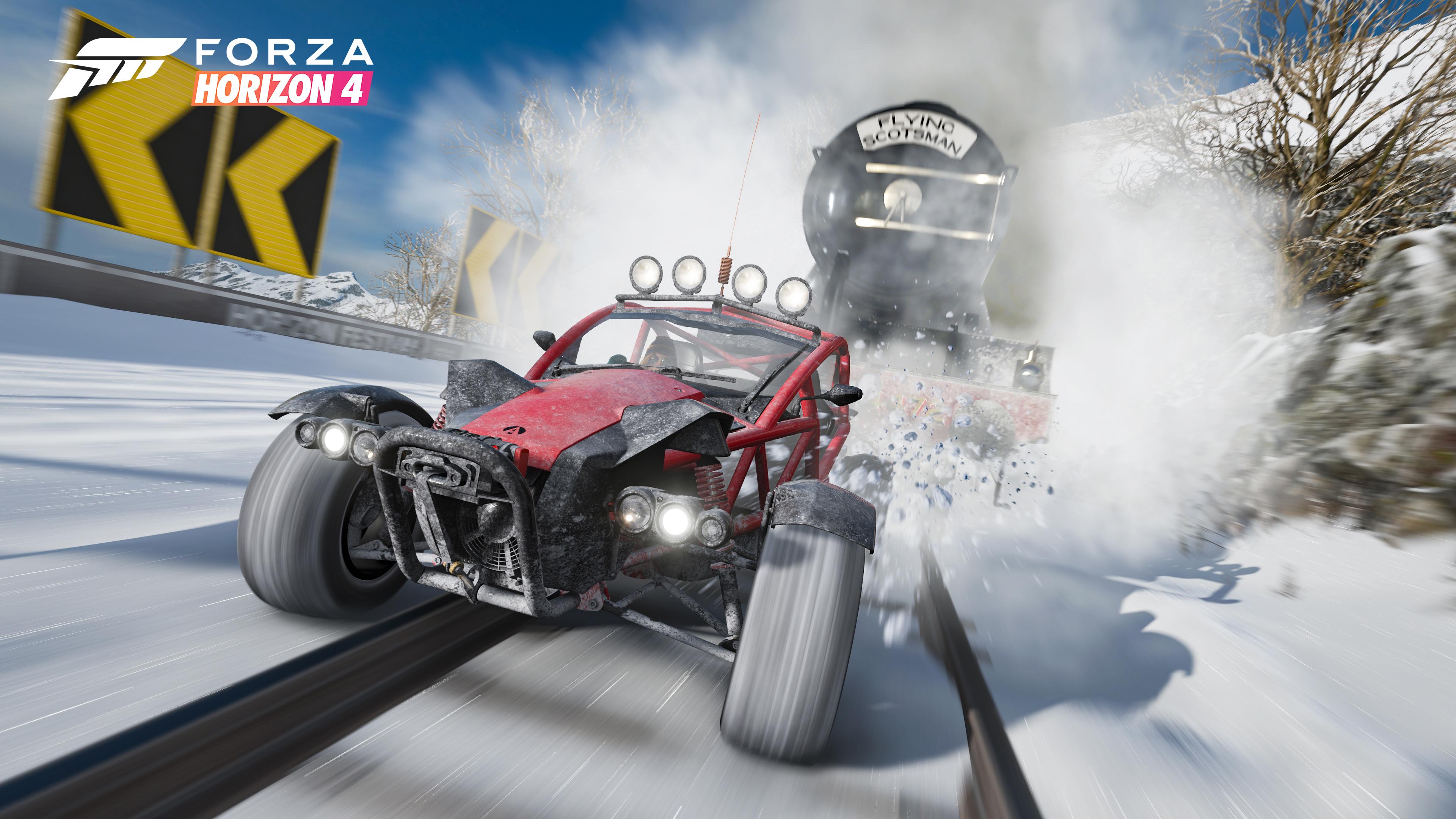 Vinter, sa du? Forza Horizon-serien har fått årstider.