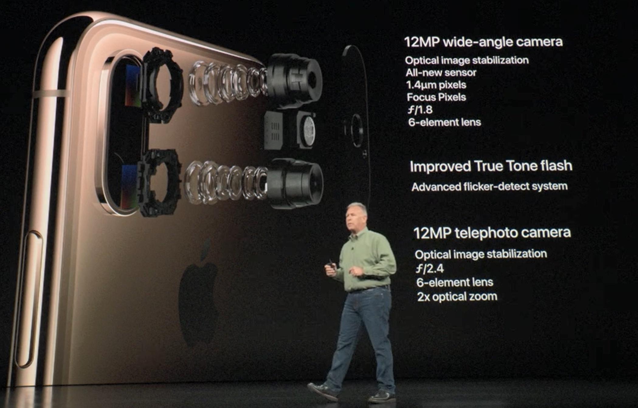 Kameraet i XS er ikke minst kjappere.