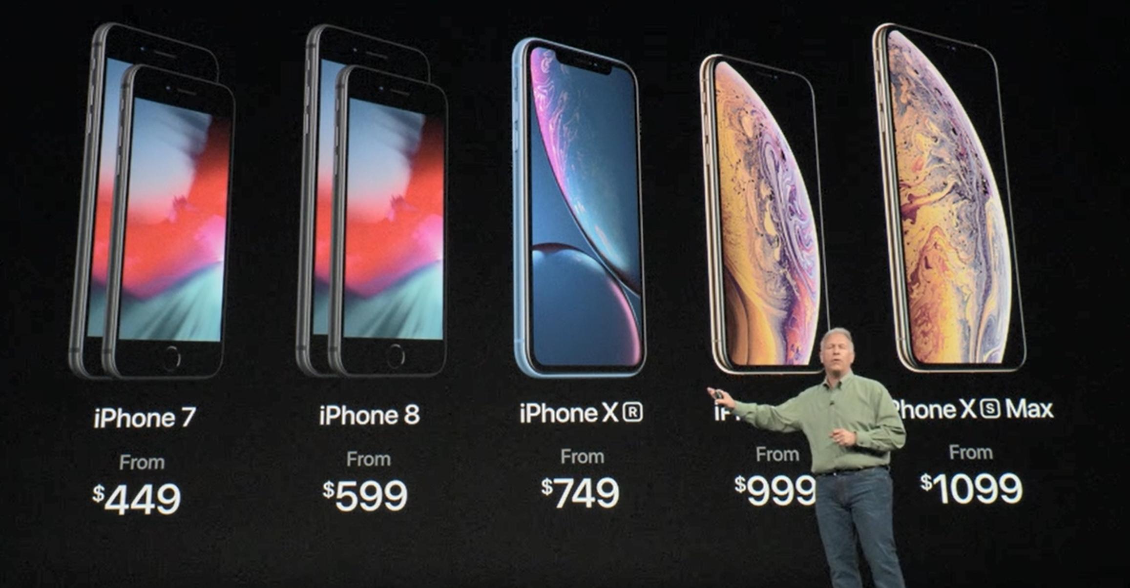 Dette er Apples 2018-lineup.