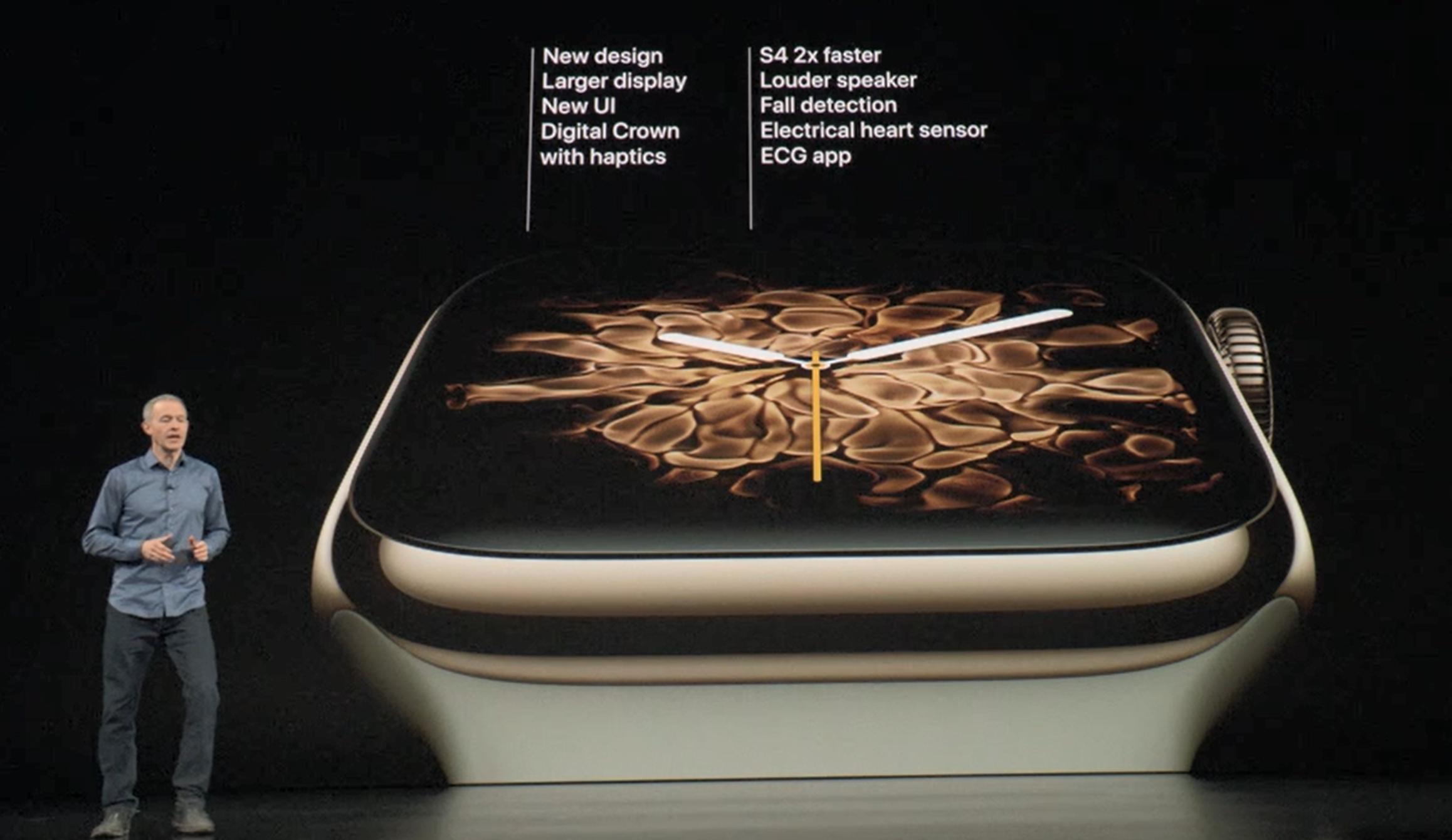 Apple lover Series 4, men alle sine nye funksjoner, varer like lenge som Series 3.