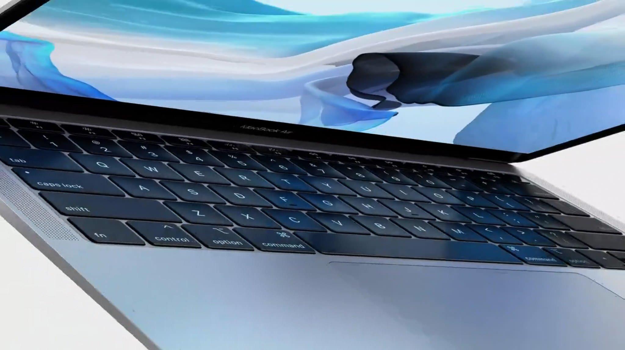 Det kom en helt ny MacBook Air, som forventet.