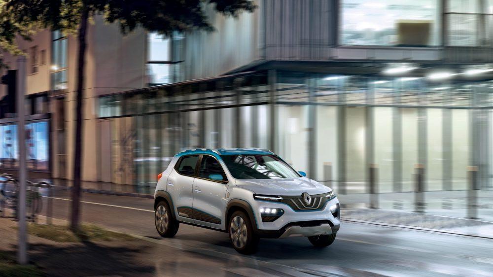 Renault K-ZE har en estimert rekkevidde på 250 kilometer.