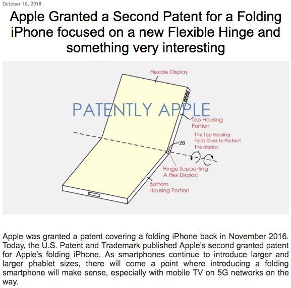 Nå har Apple klart å sikre seg patent for fleksible skjermer