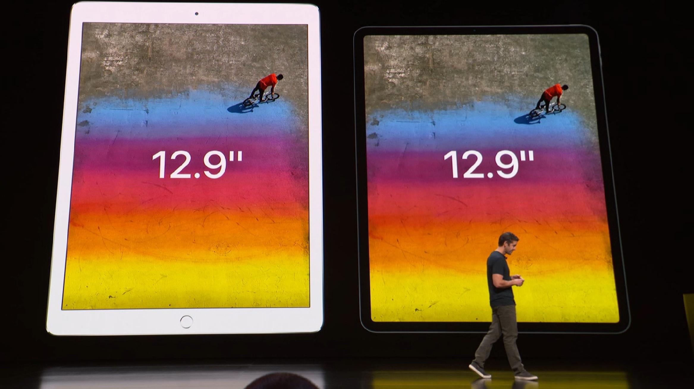 """Apple mener at 12,9""""-modellen er den beste for de fleste."""