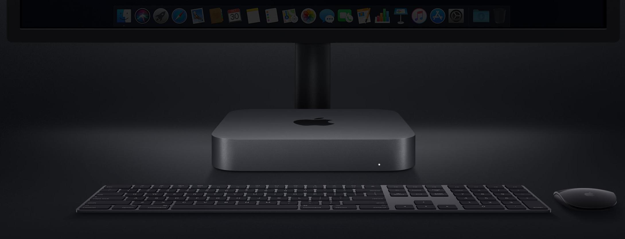Mac mini ble endelig oppgradert i dag.