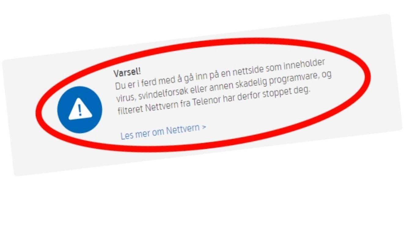 canal digital nett nede