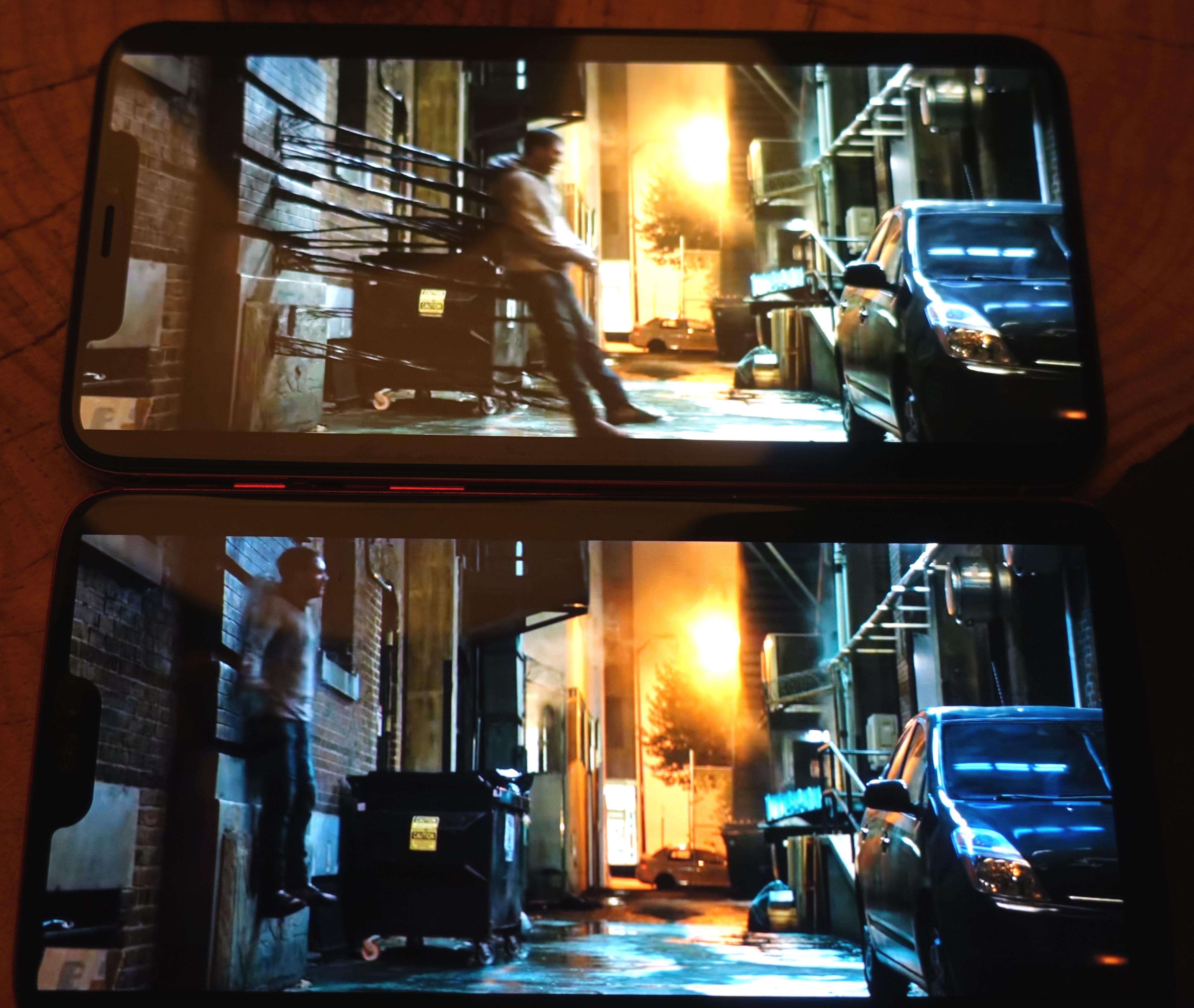 iPhone Xs Max på topp og OnePlus 6. De to har en prisforskjell på nesten 7700 kroner.