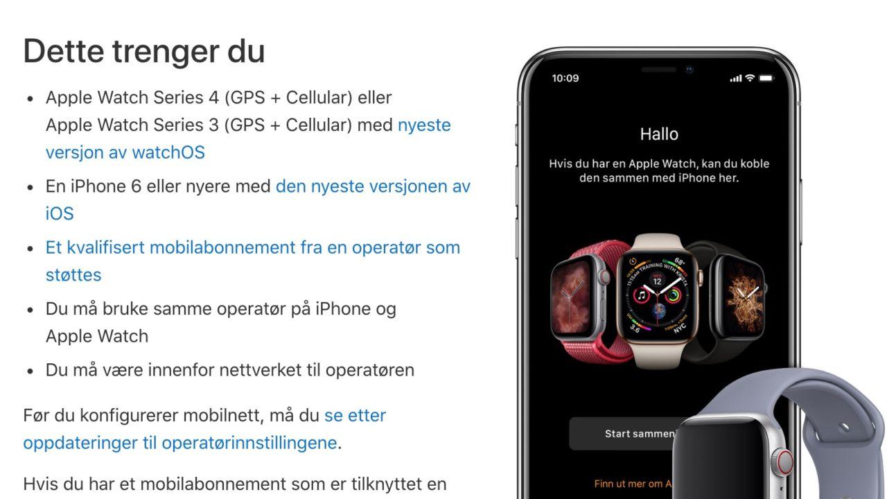 apple klokke kjøp