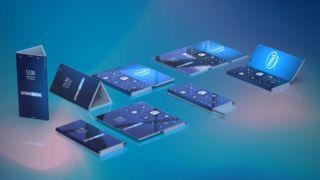 Av patentet går det frem at Intel pønsker på noe med en foldbar telefon som skal være Windows-styrt.