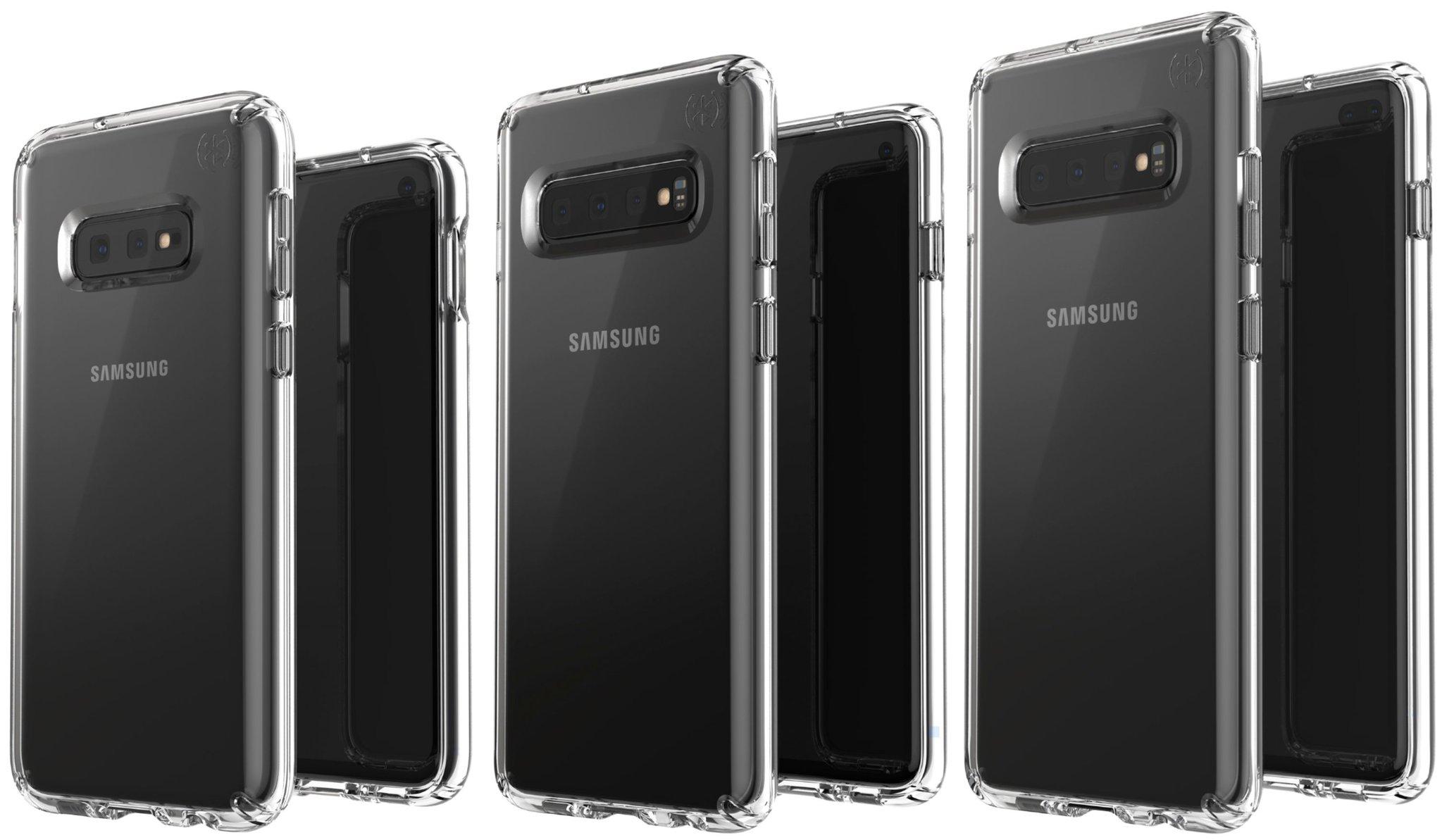 Dette er de tre nye Galaxy-mobilene: S10E, S10 og S10+